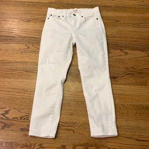 J. Crew Stretch White Jean sz:25